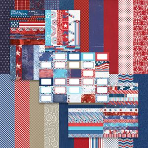 Picture of Red, White, and Beautiful by Katie Pertiet Bundle
